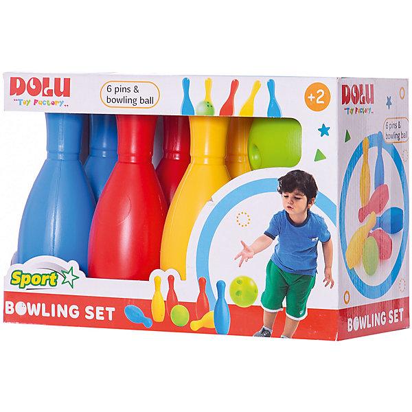 DOLU Мега набор боулинг из 6 кеглей и 1 шаром