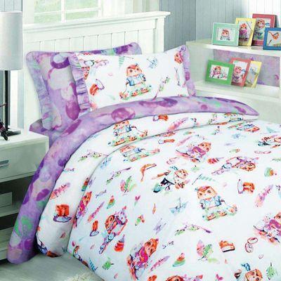 Детское постельное белье 1,5 сп. Mona Liza, Совята, артикул:8307853 - Детский текстиль