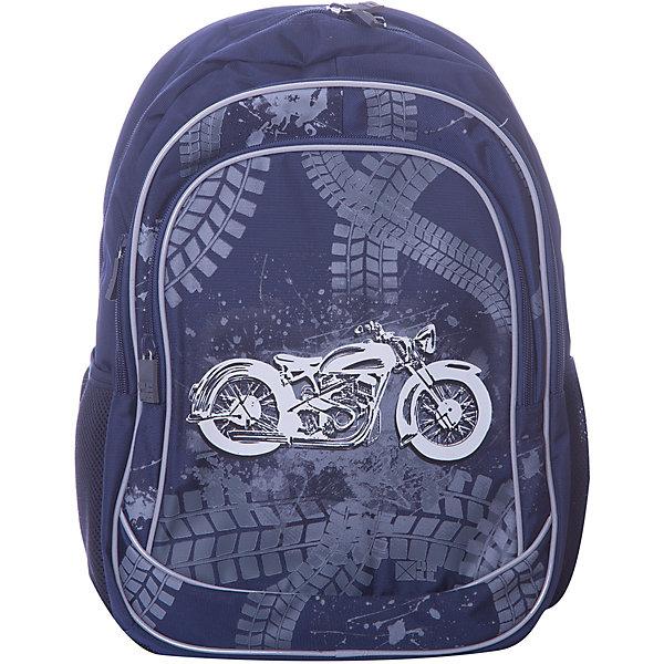 Купить Рюкзак 4ALL Линия School, темно-синий, Китай, Мужской