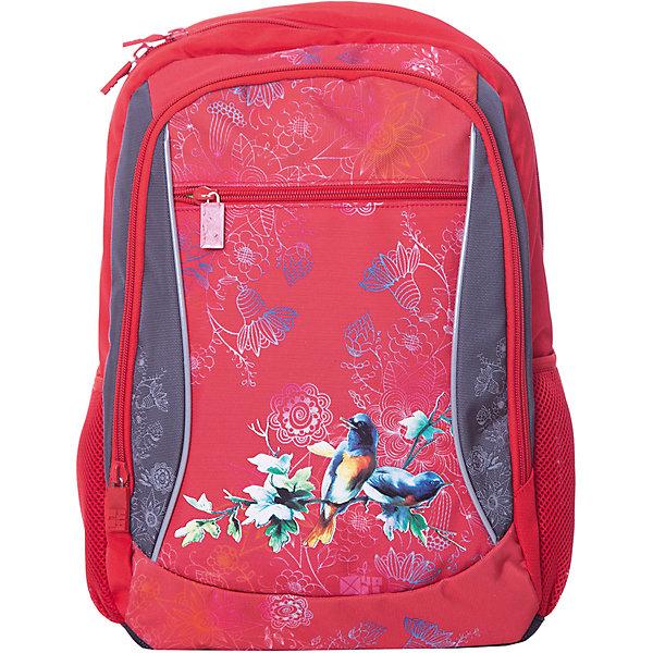 4ALL Рюкзак 4ALL Линия School, красно-серый 4all рюкзак 4all линия school 02p