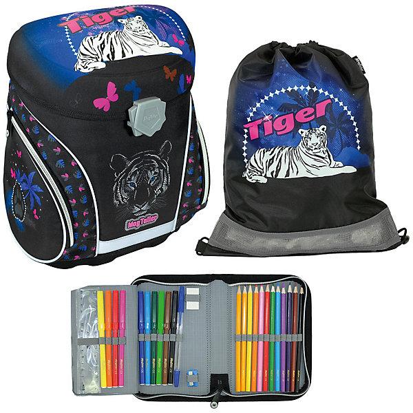 MagTaller Ранец школьный J-flex, Tiger с наполнением delune ранец школьный с наполнением 1 предмет 7 120