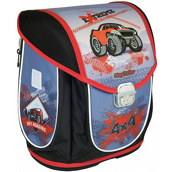 MagTaller Ранец школьный Ezzy III, Monster Truck mag taller mag taller ранец школьный ezzy iii tiger