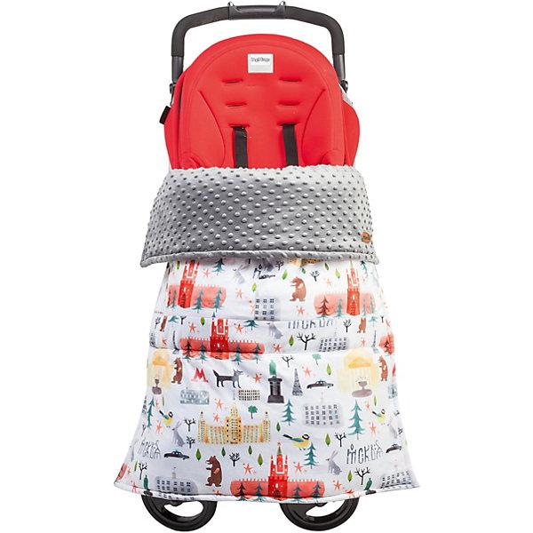 Mammie Одеяло-накидка на ноги в коляску Mammie, цвет Москва mammie матрасик двухсторонний в коляску mammie жемчужный