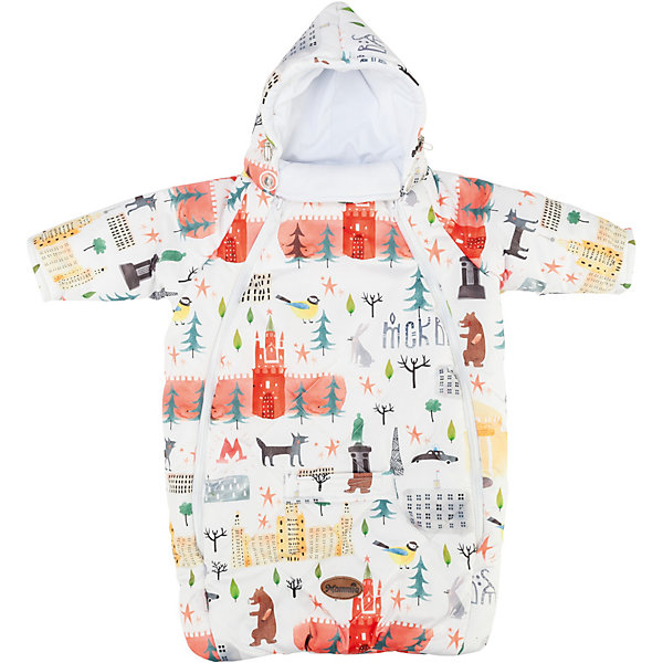 Mammie Конверт для новорожденного с рукавами , цвет Москва