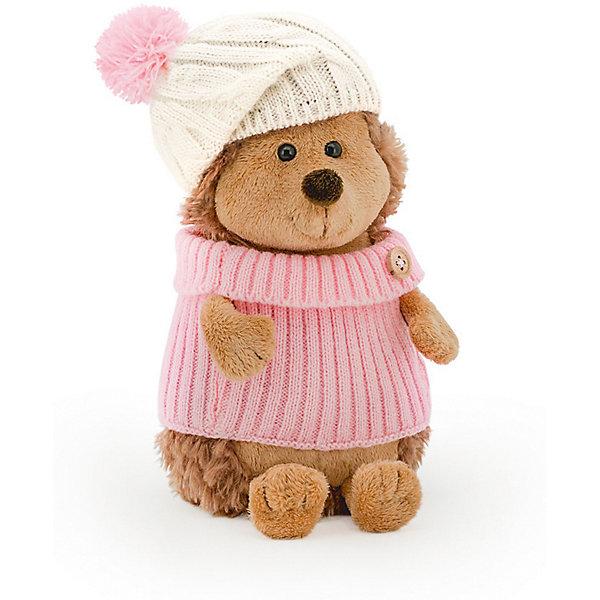 Мягкая игрушка Orange Life Ежинка Колючка в шапке с розовым помпоном, 26 смДикие животные и птицы<br>Характеристики:<br><br>• возраст: от 3 лет;<br>• материал:  плюш, наполнитель, текстиль, пластик;<br>• цвет: коричневый;<br>• высота игрушки: 25 см;<br>• размер: 30х16х15,5 см;<br>• вес: 500 гр;<br>• страна бренда: Россия;<br>• бренд: Orange Toys.<br> <br>Игрушка Ежинка Колючка в шапке с розовым помпоном приведет в восторг детей от 3 лет. Колючка обожает, когда выпадает первый снег. Деревья в лесу примеряют на себя легкие зимние наряды, а земля покрывается тонкой серебристой перинкой. Ранним утром Ежинка выберет свой тепленький розовый свитер, который согреет ее, если есть ветерок. На голову, конечно, она наденет свой симпатичный, белый как снег, беретик с пушистым розовым помпоном. Колючка откроет дверь, вдохнет свежий лесной воздух и пойдет любоваться сверкающим в лучах раннего солнца лесом.  Утренняя прогулка - отличный способ зарядиться энергией на целый день. <br><br>Игрушку  Ежинка Колючка в шапке с розовым помпоном можно купить в нашем интернет-магазине.<br>Ширина мм: 300; Глубина мм: 160; Высота мм: 155; Вес г: 500; Цвет: коричневый; Возраст от месяцев: 36; Возраст до месяцев: 168; Пол: Унисекс; Возраст: Детский; SKU: 8316907;