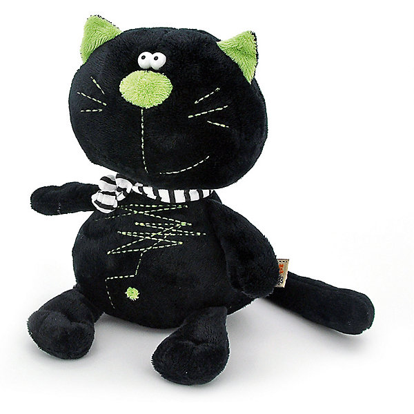 Мягкая игрушка Orange Toys Кот Батон чёрный, 20 смМягкие игрушки животные<br>Характеристики:<br><br>• возраст: от 3 лет;<br>• материал: плюш, искусственный мех, текстиль, наполнитель, пластик;<br>• цвет: черный;<br>• высота игрушки: 30 см;<br>• размер: 15х11х29 см;<br>• вес: 150 гр;<br>• страна бренда: Россия;<br>• бренд: Orange Toys.<br> <br>Игрушка Кот Батон произведен компанией Orange. Он выглядит невероятно стильно. Кот Батон выглядит просто шикарно, поэтому достоин того, чтобы стать подарком для человека любого возраста. Игрушку можно стирать вручную при температуре 30 градусов.<br><br>Игрушку  Кот Батон можно купить в нашем интернет-магазине.<br>Ширина мм: 150; Глубина мм: 130; Высота мм: 290; Вес г: 150; Цвет: черный; Возраст от месяцев: 36; Возраст до месяцев: 168; Пол: Унисекс; Возраст: Детский; SKU: 8316929;