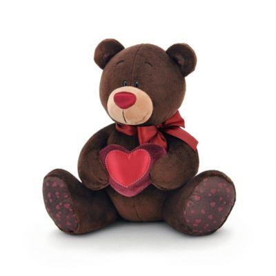 Мягкая игрушка Orange  Choco&Milk  Медвежонок Choco с сердцем, 30 см, артикул:8316931 - Мягкие игрушки