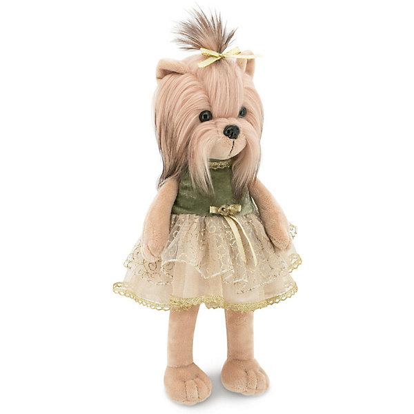 Купить Мягкая игрушка Orange Lucky Doggy Собака Yoyo: Роскошь, 37 см, Китай, бежевый, Унисекс