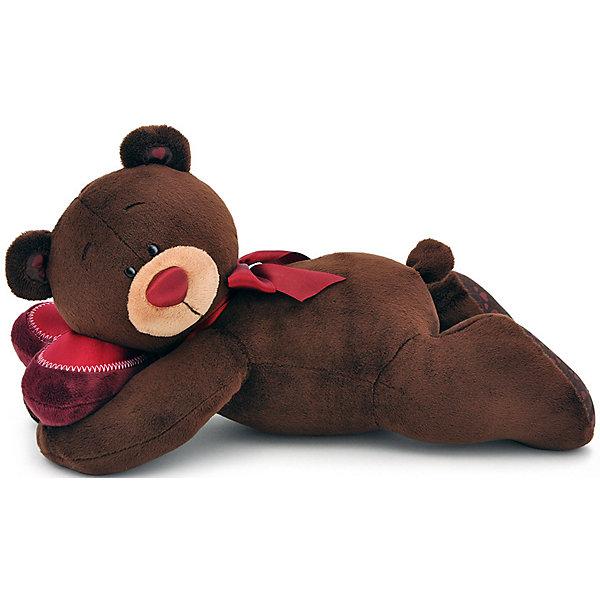 Купить Мягкая игрушка Orange Choco & Milk Мишка Choco лежебока, 30 см, Китай, коричневый, Унисекс