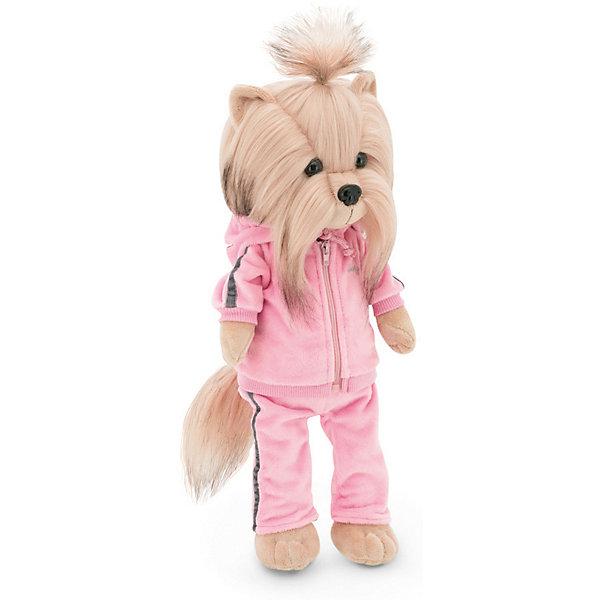 Мягкая игрушка Orange Lucky Doggy Собака Yoyo: Фитнес, 37 см, Бежевый