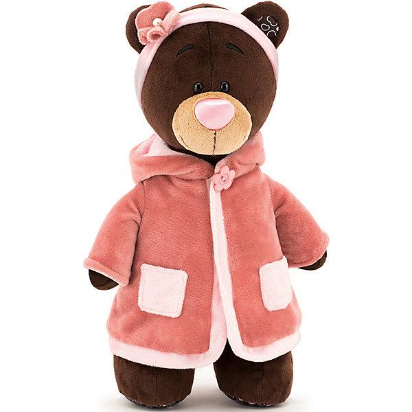 Orange Мягкая игрушка Orange Choco&Milk Медвежонок Milk стоячая в пальто, 30 см milk cup shaped wallet