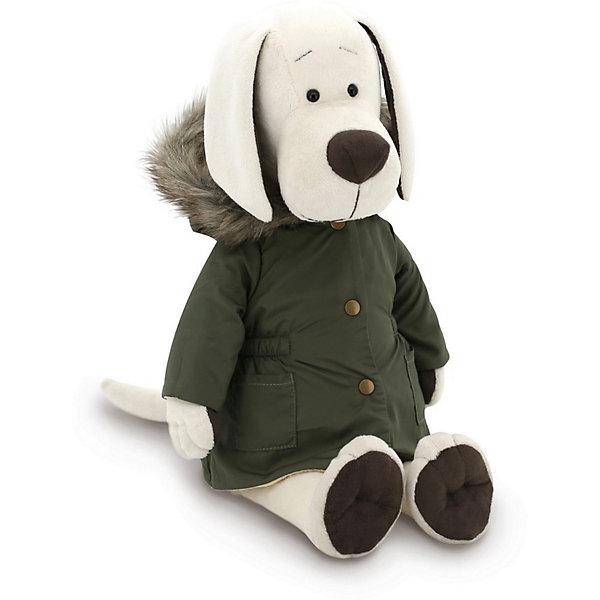 Мягкая игрушка Orange Life Собачка Лапуська: Осенняя куртка, 30 смМягкие игрушки животные<br>Характеристики:<br><br>• возраст: от 3 лет;<br>• материал: текстиль, искусственный мех, наполнитель, пластик;<br>• цвет: белый;<br>• высота игрушки: 30 см;<br>• размер: 36х20х20 см;<br>• вес: 500 гр;<br>• страна бренда: Россия;<br>• бренд: Orange Toys.<br> <br>Игрушка Собачка Лапуська: Осенняя куртка покорит своим симпатичным внешним видом и детей, и взрослых. Мягкие игрушки Orange Toys изготавливаются на основе трёх важнейших принципов – безупречное качество, доступная стоимость и неповторимый дизайн. Orange Toys – это мягкие игрушки, созданные для того, чтобы люди улыбались. С милыми плюшевыми созданиями Orange Toys приятно играть и весело дружить.<br><br>Игрушку Собачка Лапуська: Осенняя куртка можно купить в нашем интернет-магазине.<br>Ширина мм: 360; Глубина мм: 200; Высота мм: 200; Вес г: 500; Цвет: белый; Возраст от месяцев: 36; Возраст до месяцев: 168; Пол: Унисекс; Возраст: Детский; SKU: 8317021;
