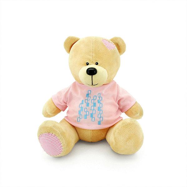 Мягкая игрушка Orange Toys Медведь Топтыжкин жёлтый, 20 см, Желтый
