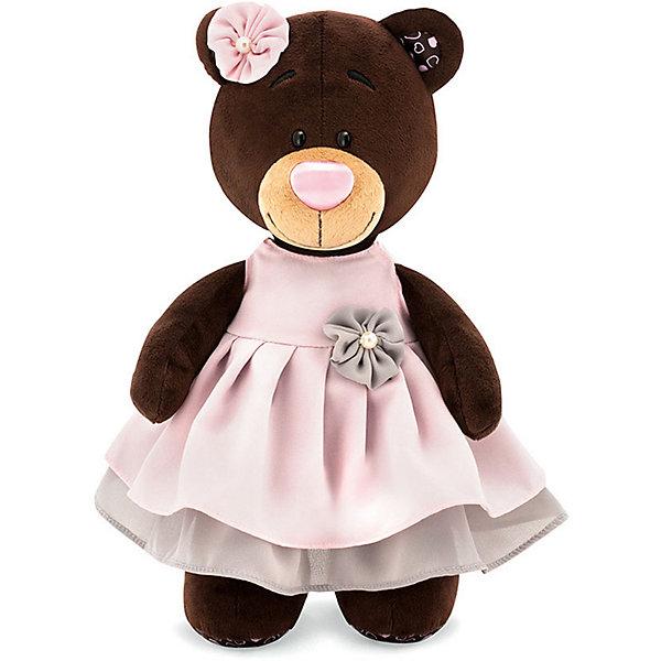 Orange Мягкая игрушка Orange Choco&Milk Медвежонок Milk в бальном платье, 30 см трусики подгузники goon cheerful l 8 14 кг 48 шт