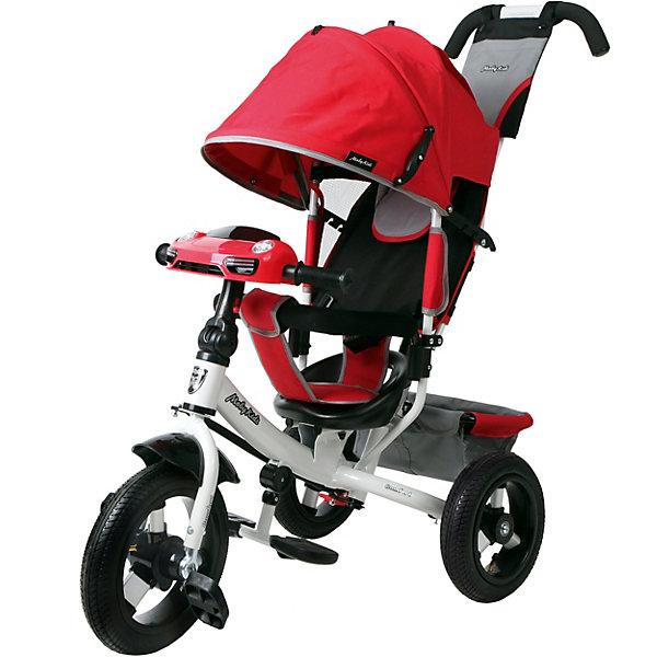 Купить Велосипед Moby Kids3кол. Comfort 12x10 AIR Car 2 красн., Китай, красный, Унисекс