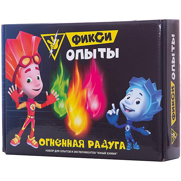 Купить Набор для опытов Висма Фикси опыты Огненная радуга, Россия, разноцветный, Унисекс