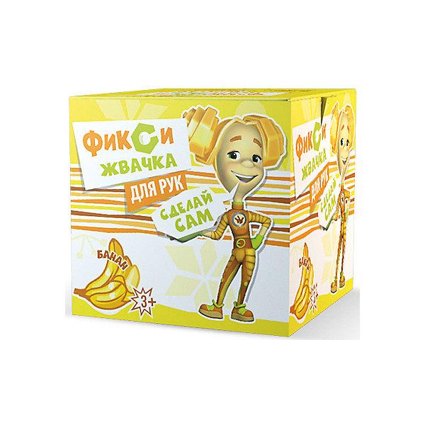 Набор для творчества Висма Фикси Жвачка для рук, БананХимия и физика<br>Характеристики товара:<br><br>• возраст: от 3 лет;<br>• материал: картон, пластик;<br>• размер упаковки: 12х12х12 см;<br>• вес упаковки: 250 гр.<br><br>Набор для творчества Висма «Фикси Жвачка для рук. Банан» позволит детям провести уникальный опыт превращения нескольких жидкостей в эластичную жвачку. Полученную жвачку можно назвать неньютоновской жидкостью, так как она имеет одновременно жидкое и твердое состояние. С помощью набора дети познакомятся с основами химии и смогут понаблюдать за протеканием реакций.<br><br>Набор для творчества Висма «Фикси Жвачка для рук. Банан» можно приобрести в нашем интернет-магазине.<br>Ширина мм: 120; Глубина мм: 120; Высота мм: 120; Вес г: 25; Цвет: разноцветный; Возраст от месяцев: 120; Возраст до месяцев: 2147483647; Пол: Унисекс; Возраст: Детский; SKU: 8317181;