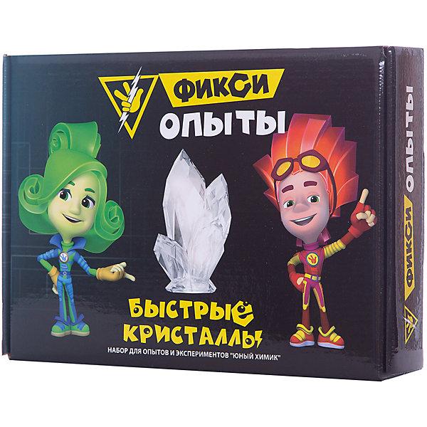 Купить Набор для опытов Висма Фикси опыты Быстрые кристаллы, Россия, разноцветный, Унисекс