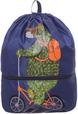 Мешок для обуви Grizzly, синий, артикул:8317324 - Сумки