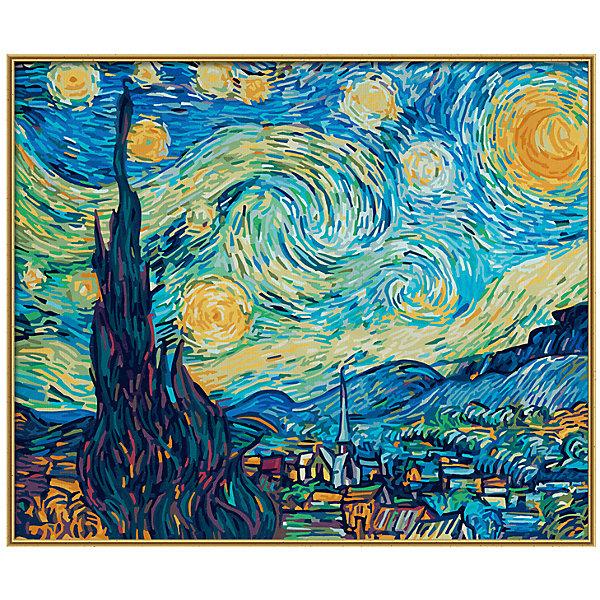 Картина по номерам Schipper Репродукция Звездная ночь» Ван Гог, 50х60 смКартины по номерам<br>Характеристики:<br><br>• возраст: от 12 лет<br>• в наборе: фактурная картонная основа с пронумерованными контурами (50х60 см.); акриловые краски на водной основе 36 цветов; кисточка из нейлона; наклейки с номерами; контрольный лист; инструкция.<br>• тематика иллюстрации: пейзажи<br>• форма полотна: прямоугольная горизонтальная<br>• упаковка: картонная коробка<br>• температура хранения: выше +5°C.<br>• произведено в Германии<br><br>Картина по номерам «Звездная ночь» от компании Schipper (Шиппер) - это набор для творчества, в который входит все необходимое для создания копии знаменитой картины Ван Гога.<br><br>Нарисовать репродукцию мирового шедевра будет под силу даже тем, кто не обладает навыками художников. Картина-заготовка выполнена на фактурной картонной основе с пронумерованными контурами. Для создания картины потребуется аккуратно, шаг за шагом, заполнять цветными акриловыми красками пронумерованные участки холста. Картина раскрашивается без смешивания красок.<br><br>В наборе имеется контрольный лист, на котором можно потренироваться в нанесении цвета или сверить номер краски на каком-либо участке картины. Акриловые краски в наборе содержатся в очень плотно закрытых контейнерах, поэтому доходят до покупателя, сохранив свои свойства.<br><br>Раскрашивание по номерам позволяет разить творческие способности, моторику пальцев, улучшить цветовосприятие.<br><br>Картину по номерам Schipper Репродукция «Звездная ночь» Ван Гог, 50х60 см, 1/6 можно купить в нашем интернет-магазине.<br>Ширина мм: 510; Глубина мм: 30; Высота мм: 620; Вес г: 1100; Цвет: разноцветный; Возраст от месяцев: 144; Возраст до месяцев: 2147483647; Пол: Унисекс; Возраст: Детский; SKU: 8317684;
