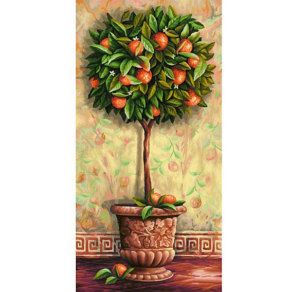 Картина по номерам Schipper Апельсиновое дерево 40х80 смКартины по номерам<br>Характеристики:<br><br>• возраст: от 12 лет<br>• в наборе: фактурная картонная основа с пронумерованными контурами (40х80 см.); акриловые краски на водной основе 36 цветов; кисточка из нейлона; наклейки с номерами; контрольный лист; инструкция.<br>• уровень сложности: 4<br>• форма полотна: прямоугольная вертикальная<br>• упаковка: картонная коробка<br>• температура хранения: выше +5°C.<br>• произведено в Германии<br><br>Картина по номерам «Апельсиновое дерево» от компании Schipper (Шиппер) - это набор для творчества, в который входит все необходимое для создания картины с изображением роскошного апельсинового дерева.<br><br>Нарисовать удивительную картину будет под силу даже тем, кто не обладает навыками художников. Картина-заготовка выполнена на фактурной картонной основе с пронумерованными контурами. Для создания шедевра потребуется аккуратно, шаг за шагом, заполнять цветными акриловыми красками пронумерованные участки холста. Картина раскрашивается без смешивания красок.<br><br>В наборе имеется контрольный лист, на котором можно потренироваться в нанесении цвета или сверить номер краски на каком-либо участке картины. Акриловые краски содержатся в очень плотно закрытых контейнерах, поэтому доходят до покупателя, сохранив свои свойства.<br><br>Раскрашивание по номерам позволяет разить творческие способности, моторику пальцев, улучшить цветовосприятие.<br><br>Картину по номерам Schipper 40х80 см, Апельсиновое дерево, 1/4 можно купить в нашем интернет-магазине.<br>Ширина мм: 40; Глубина мм: 810; Высота мм: 410; Вес г: 1200; Цвет: разноцветный; Возраст от месяцев: 144; Возраст до месяцев: 2147483647; Пол: Унисекс; Возраст: Детский; SKU: 8317688;