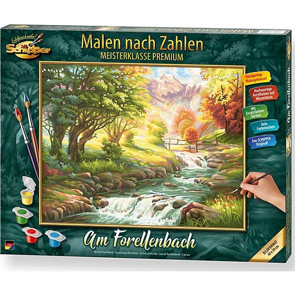 Schipper Картина по номерам Schipper Горная река 40х50 см картина по номерам поцелуй schipper 40х50 см
