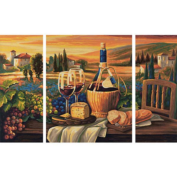 Schipper Картина-триптих по номерам Schipper Сладкая жизнь 50х80 см набор для изготовления картины сладкая жизнь