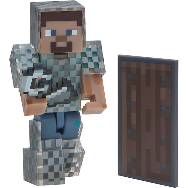Jazwares Фигурка Jazwares Minecraft Steve in Chain Armor, 8 см утюг philips gc 7703 20