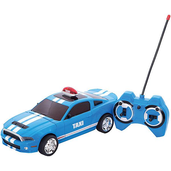 Купить Радиоуправляемая машина Yako Toys Taxi, голубая, Китай, голубой, Мужской