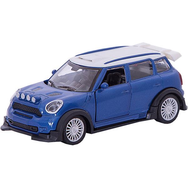 Купить Инерционная машинка Yako Toys Драйв Collection Городской кроссовер, 1:34, синяя, Китай, синий, Мужской