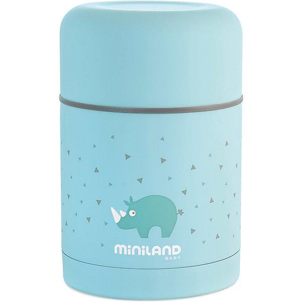 Купить Термос Miniland Silky Thermos 600 мл, голубой, Китай, синий, Унисекс
