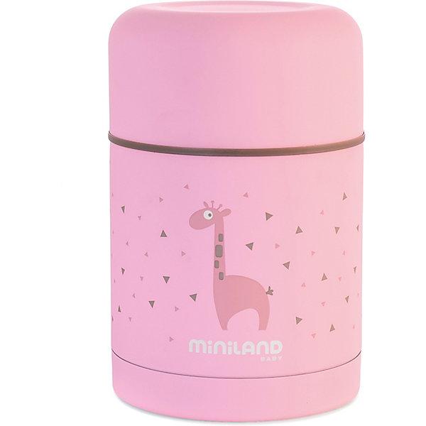 Купить Термос Miniland Silky Thermos 600 мл, розовый, Китай, Женский
