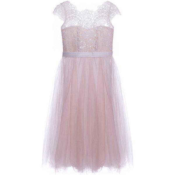 Купить Платье Престиж для девочки, Россия, коричневый, 116, 128, 122, Женский