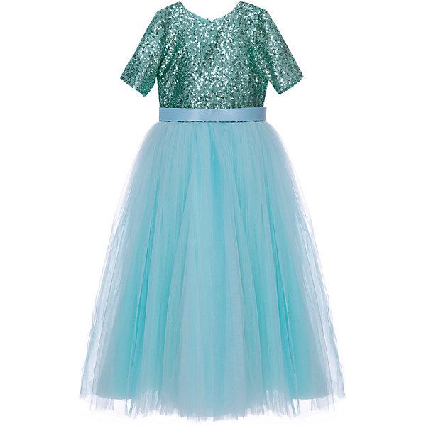 Престиж Платье Престиж для девочки платье для девочки bj8673 разноцветный byblos