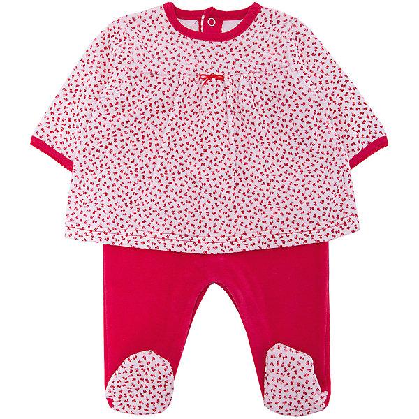 Комбинезон Absorba для девочкиКомбинезоны<br>Характеристики товара:<br><br>• цвет: красный;<br>• состав ткани: 75% хлопок, 25% полиэстер/100% хлопок;<br>• сезон: круглый год;<br>• застежка: кнопки;<br>• длинные рукава; <br>• страна бренда: Франция.<br><br>Детская одежда от знаменитого французского бренда Absorba - это стиль и комфорт одновременно. Оригинальный комбинезон для ребенка дополнен кнопками, чтобы его можно было легко одеть или снять с малыша. Детский комбинезон - из комбинированного материала, он выглядит как платье с ползунками в цвет. Материал детского комбинезона - преимущественного дышащий и гипоаллергенный хлопок, создающий малышам комфортные условия на весь день. <br><br>Комбинезон Absorba (Абсорба) для девочки можно купить в нашем интернет-магазине.<br>Ширина мм: 356; Глубина мм: 10; Высота мм: 245; Вес г: 519; Цвет: красный; Возраст от месяцев: 24; Возраст до месяцев: 36; Пол: Женский; Возраст: Детский; Размер: 50,71,68; SKU: 8328370;
