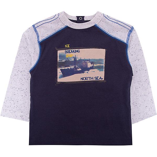 Футболка с длинным рукавом 3pommes для мальчикаФутболки с длинным рукавом<br>Характеристики товара:<br><br>• цвет: синий;<br>• состав ткани: 98% хлопок, 2% полиэстер;<br>• сезон: демисезон;<br>• длинные рукава; <br>• страна бренда: Франция.<br><br>Такой детский лонгслив из комбинированного материала может стать удобной основой для составления наряда на каждый день. Стильный лонгслив для детей сделан из качественного материала, приятного на ощупь. Лонгслив для ребенка украшен оригинальным принтом на груди и контрастной прострочкой. Детская одежда от французского бренда 3 Pommes из Франции пользуется известностью и любовью родителей благодаря стильному внешнему виду и высокому качеству.<br><br>Лонгслив 3 Pommes (3 Поммис) для мальчика можно купить в нашем интернет-магазине.<br>Ширина мм: 230; Глубина мм: 40; Высота мм: 220; Вес г: 250; Цвет: синий; Возраст от месяцев: 12; Возраст до месяцев: 18; Пол: Мужской; Возраст: Детский; Размер: 86,80,74,98,92; SKU: 8328529;