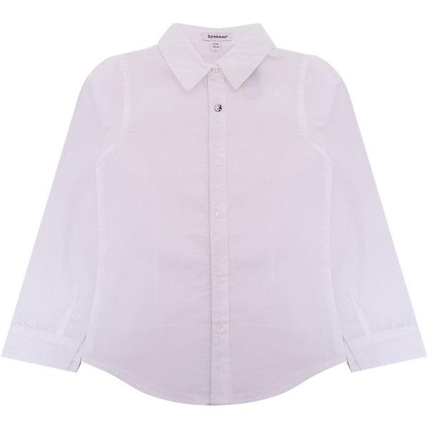 Блузка 3pommes для девочкиБлузки и рубашки<br>Характеристики товара:<br><br>• цвет: белый;<br>• состав ткани: 100% хлопок;<br>• сезон: круглый год;<br>• особенности модели: школьная, нарядная;<br>• застежка: пуговицы;<br>• длинные рукава; <br>• страна бренда: Франция.<br><br>Белая детская блузка, выполненная в классическом цвете, может стать отличной основой для составления различных нарядов. Блузка для ребенка отличается лаконичным декором и элегантным силуэтом. Блузка для детей сделана из мягкого натурального хлопка, который позволяет коже дышать и не вызывает аллергии. Детские товары от известного бренда 3 Pommes из Европы пользуются популярностью во многих странах благодаря высокому качеству и узнаваемому французскому стилю.<br><br>Блузку 3 Pommes (3 Поммис) для девочки можно купить в нашем интернет-магазине.<br>Ширина мм: 186; Глубина мм: 87; Высота мм: 198; Вес г: 197; Цвет: белый; Возраст от месяцев: 132; Возраст до месяцев: 144; Пол: Женский; Возраст: Детский; Размер: 152,140,128,116,110,104; SKU: 8328570;