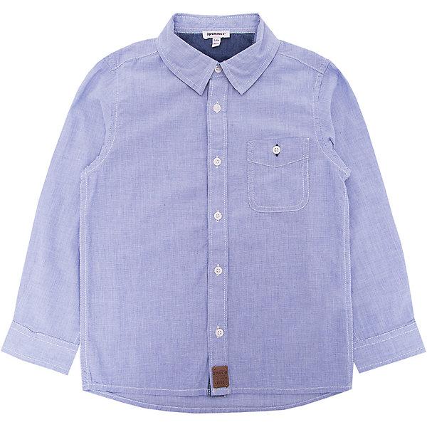 3 Pommes Рубашка 3pommes для мальчика рубашка детская next 681 377 15 3 16y