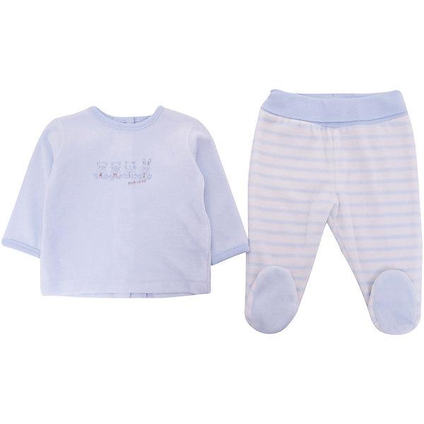 absorba Комплект: Футболка,ползунки Absorba для мальчика комплект для мальчика клякса кофточка штанишки цвет мятный белый 37к 2005 размер 80