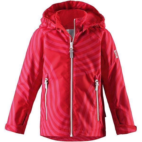 Куртка Reimatec ReimaВерхняя одежда<br>Куртка Reimatec Reima <br> Чудесная детская демисезонная куртка-дождевик со свежим рисунком очень классно смотрится! Куртка изготовлена из ветронепроницаемого, дышащего материала, обладающего водо- и грязеотталкивающими свойствами. Все основные швы проклеены, водонепроницаемы, поэтому никакой дождь не помешает веселым играм на свежем воздухе! Красивая и гладкая подкладка из mesh-сетки увеличивает воздухопроводимость, а благодаря эластичному подолу куртка будет отлично сидеть по фигуре. Безопасный съемный капюшон легко отстегивается, если случайно за что-нибудь зацепится, а все найденные за день маленькие сокровища будут надежно спрятаны в карманах на молнии. Светоотражающие детали позволяют лучше разглядеть ребенка в темное время суток. Модный сплошной рисунок отлично сочетается с разнообразной верхней одеждой и точно не останется незамеченным!<br>Состав:<br>100% Полиэстер, полиуретановое покрытие<br>Ширина мм: 356; Глубина мм: 10; Высота мм: 245; Вес г: 519; Цвет: красный; Возраст от месяцев: 24; Возраст до месяцев: 36; Пол: Унисекс; Возраст: Детский; Размер: 98,92,140,134,128,104; SKU: 8329505;