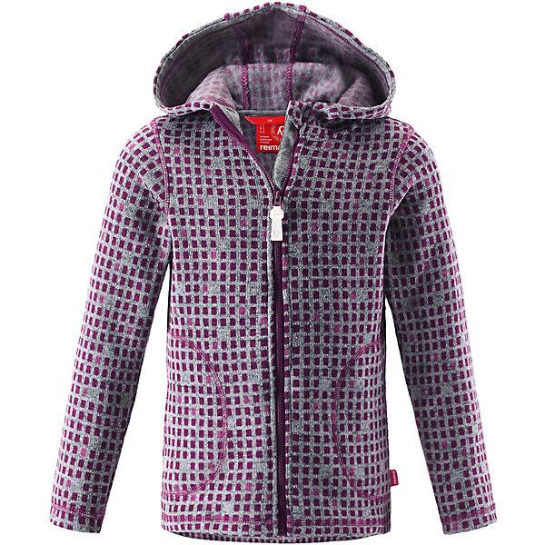 Куртка флисовая  Reima для девочкиФлис и термобелье<br>Куртка флисовая  Reima для девочки<br>#Флисовая куртка для подростков#Мягкий меланжевый флисовый трикотаж: выглядит, как обычный свитер, и обладает всеми преимуществами флиса#Крой для девочек#Регулируемый капюшон#Молния по всей длине с защитой подбородка#Два передних кармана#Принт по всей поверхности#<br>Состав:<br>100% ПЭ<br>Ширина мм: 356; Глубина мм: 10; Высота мм: 245; Вес г: 519; Цвет: фиолетовый; Возраст от месяцев: 84; Возраст до месяцев: 96; Пол: Женский; Возраст: Детский; Размер: 128,98,140,122,110; SKU: 8329792;