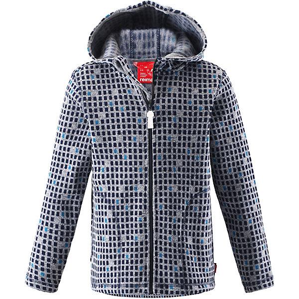 Куртка флисовая  Reima для девочкиФлис и термобелье<br>Куртка флисовая  Reima для девочки<br>#Флисовая куртка для подростков#Мягкий меланжевый флисовый трикотаж: выглядит, как обычный свитер, и обладает всеми преимуществами флиса#Регулируемый капюшон#Молния по всей длине с защитой подбородка#Два передних кармана#Принт по всей поверхности#<br>Состав:<br>100% ПЭ<br>Ширина мм: 356; Глубина мм: 10; Высота мм: 245; Вес г: 519; Цвет: синий; Возраст от месяцев: 24; Возраст до месяцев: 36; Пол: Женский; Возраст: Детский; Размер: 98,140,128,122,110; SKU: 8329798;