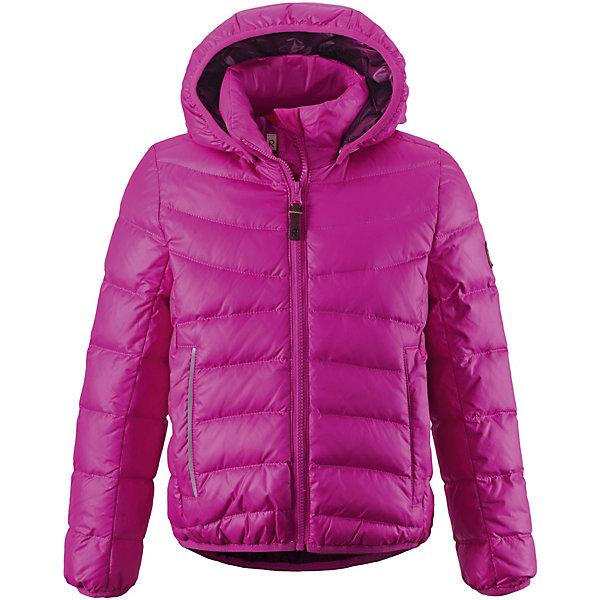 Куртка  Reima для девочкиВерхняя одежда<br>Куртка  Reima для девочки<br>#Пуховая куртка для подростков#Водоотталкивающий, ветронепроницаемый, «дышащий» и грязеотталкивающий материал#Крой для девочек#Гладкая подкладка из полиэстра#В качестве утеплителя использованы пух и перо (60%/40%)#Безопасный, съемный капюшон#Эластичная резинка на кромке капюшона, манжетах и подоле#Два кармана на молнии#Безопасные светоотражающие детали<br>Состав:<br>100% ПЭ<br>Ширина мм: 356; Глубина мм: 10; Высота мм: 245; Вес г: 519; Цвет: розовый; Возраст от месяцев: 36; Возраст до месяцев: 48; Пол: Женский; Возраст: Детский; Размер: 104,164,158,140,122,116,110; SKU: 8329804;