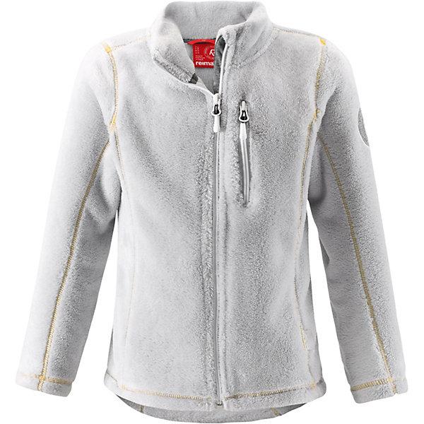 Куртка флисовая  Reima для девочкиФлис и термобелье<br>Куртка флисовая  Reima для девочки<br>#Флисовая куртка для подростков#Крой для девочек#Молния по всей длине с защитой подбородка#Карман на молнии#<br>Состав:<br>100% ПЭ<br>Ширина мм: 356; Глубина мм: 10; Высота мм: 245; Вес г: 519; Цвет: серый; Возраст от месяцев: 24; Возраст до месяцев: 36; Пол: Женский; Возраст: Детский; Размер: 98,152,140,128,122,110; SKU: 8329849;