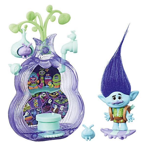 Hasbro Игровой набор Trolls Волшебный кокон Бункер hasbro игровой набор trolls тролли с супер длинными волосами голубой тролль