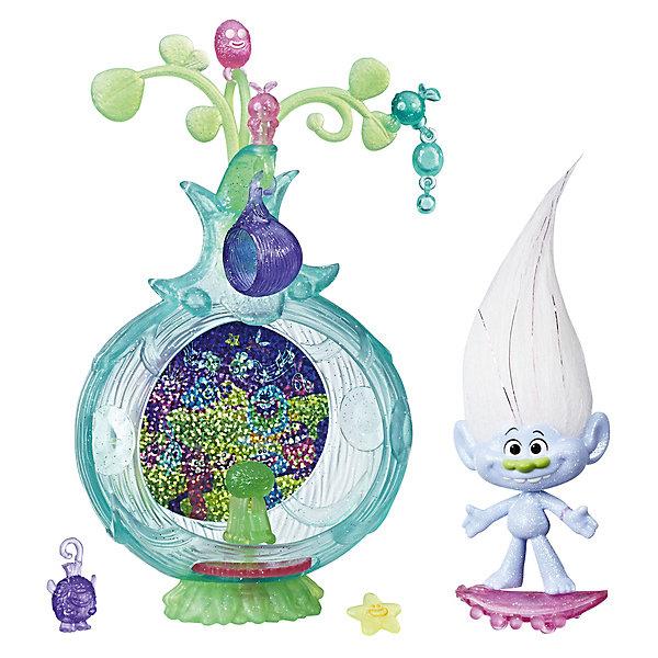 Hasbro Игровой набор Trolls Волшебный кокон Дискотека hasbro игровой набор trolls тролли с супер длинными волосами голубой тролль