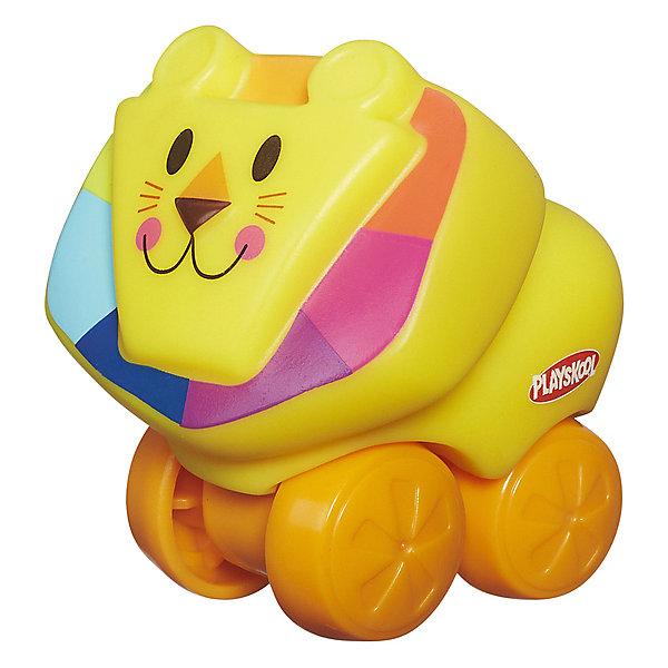 Hasbro Игрушка-каталка Playskool Возьми с собой Мини-львёнок hasbro веселый щенок возьми с собой playskool