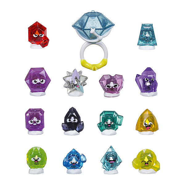 Hasbro Игровой набор Hanazuki Фигурки-сокровища с кольцом игровые фигурки guidecraft игровые фигурки better builders набор профессии