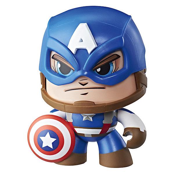 Hasbro Коллекционная фигурка Marvel Avengers Капитан Америка, 9,6 см