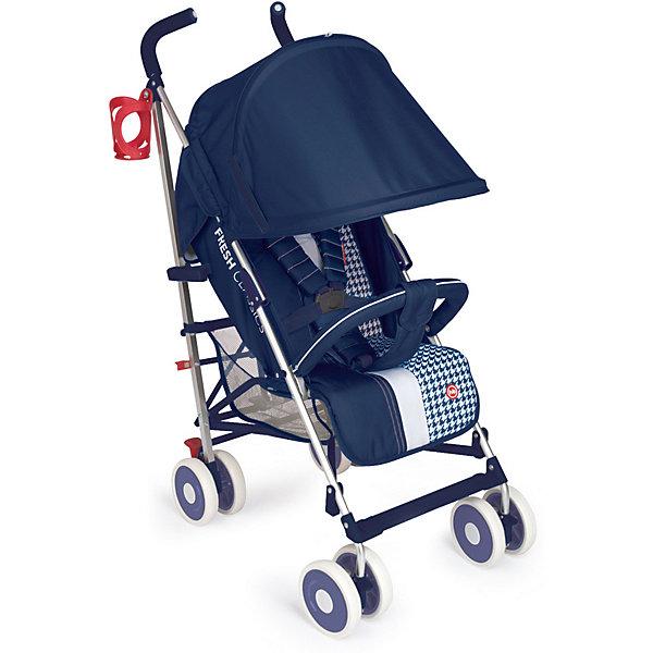 Коляска-трость Happy Baby CINDY Dark BlueКоляски-трости<br>Характеристики:<br><br>• возраст: от 7 месяцев;<br>• материал: пластик, металл, полиэстер;<br>• в комплекте: коляска, москитная сетка, дождевик, подстаканник;<br>• максимальный вес ребенка: 15 кг.;<br>• ремни безопасности: пятиточечные;<br>• диаметр колес: 15 см;<br>• размер сиденья: 31х22 см;<br>• длина спального места: 82 см;<br>• тип складывания: трость;<br>• ширина колесного основания: 49 см;<br>• 2 положения подножки;<br>• 3 положение спинки;<br>• размер коляски: 84х49х108 см;<br>• размер в сложенном виде: 104,5х26,5х43 см;<br>• вес коляски: 6,9 кг.;<br>• вес упаковки: 8,9 кг.;<br>• размер упаковки: 29,5х23,5х108 см;<br>• страна бренда: Россия.<br><br>Внимание!!! Основным является первое фото, последующие фото показывают функционал товара и могут отличаться по цвету от оригинального.<br><br>Прогулочная коляска Happy Baby Cindy – маневренная коляска с небольшим весом и хорошей проходимостью. Колеса амортизированы, передние имеют механизм фиксации направления и поворачиваются на 360 градусов. Задние колеса оснащены тормозным механизмом.<br><br>Просторное сиденье с комфортом разместит малыша, положение спинки и подножки регулируется. Пятиточечный ремень безопасности надежно и мягко фиксирует кроху. <br><br>Отличное решение для непогоды – раскладывающийся капюшон со смотровым окошком. Продуктовая корзина и карман расположены таким образом, чтобы не тревожить покой ребенка.<br><br>Каркас коляски металлический, элементы надежно скреплены между собой. Коляска просто складывается по типу трости, принимая компактный размер для транспортировки. Подходит для путешествий.<br><br>Для максимального срока службы коляску следует регулярно очищать от загрязнений и песка, при необходимости смазывать детали. Мягкие материалы коляски очищаются с помощью влажной губки с мыльным раствором, рекомендуется чистка без агрессивного механического воздействия.<br><br>Коляску-трость Happy Baby Cindy Dark Blue можно купить в нашем ин